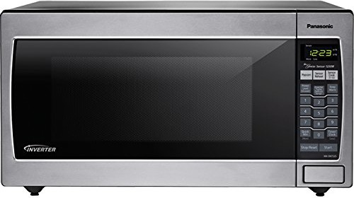panasonic nnsn752s stainless 1250w 16 cu ft countertop microwave oven with inverter technology - Panasonic Microwave Inverter
