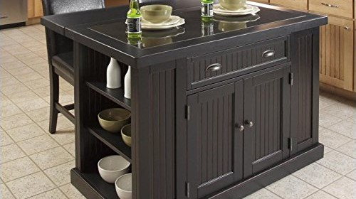 Home Styles Nantucket Granite Top Kitchen Island And
