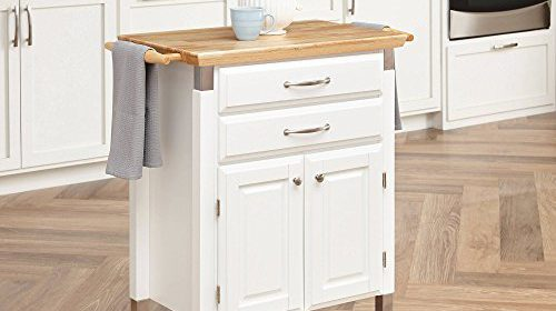 Gourmet Rolling Prep U0026 Serve Kitchen Cart Home Styles White Kitchen Island  On Wheels Movable Kitchen Island Kitchen Table With Storage Island Cabinet  Wood ...