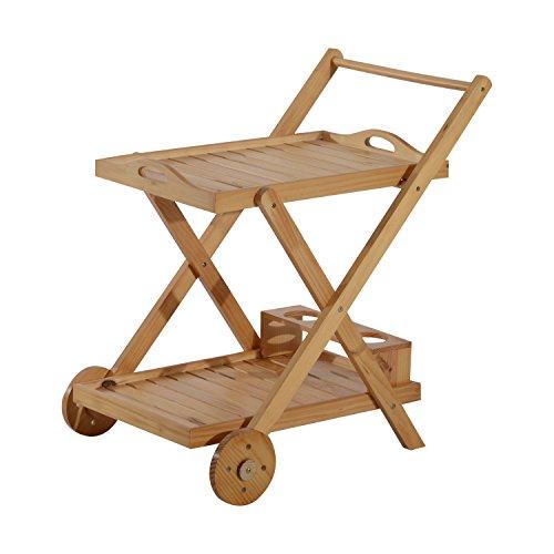 folding kitchen cart