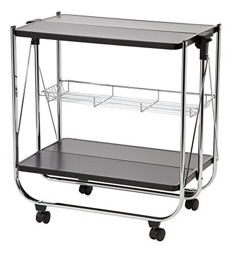folding kitchen cart